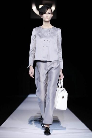 Pantaloni new style for Giorgio armani architetto